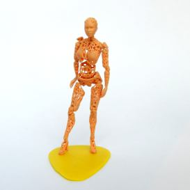 kt androide stampato in 3D envisionTEC 2
