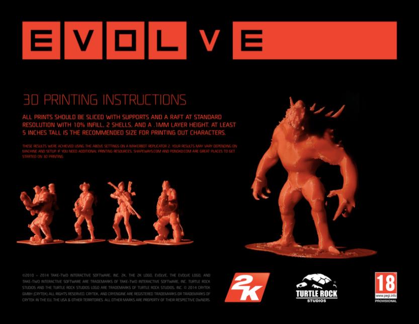 3d printing instructions copia