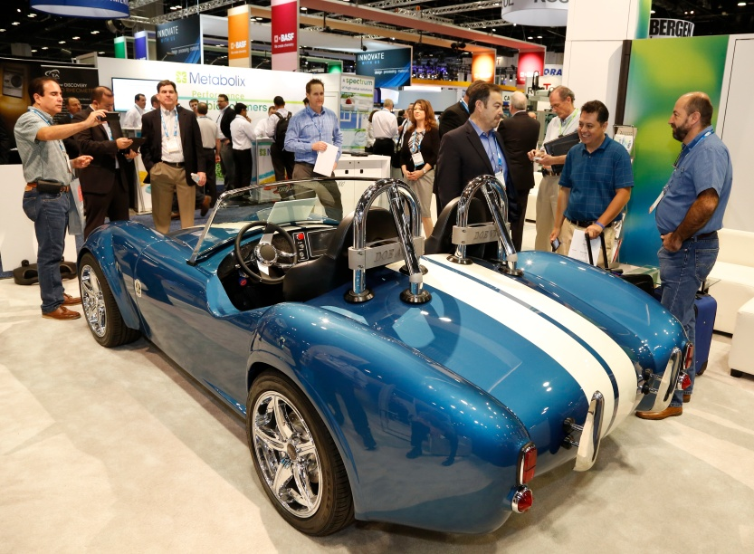 Shelby Cobra electric car